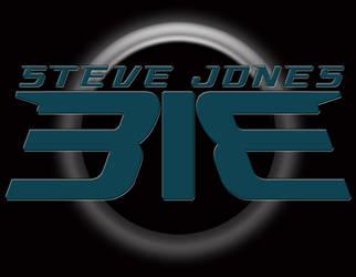 SteveJones313 Logo on Black Background by SteveJones313