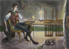 Tom Riddle by Basty007