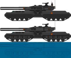 SB/LO X13 Raptor MBT/Heavy Tank by Krag7