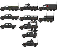 Sandlion MUV variants by Krag7