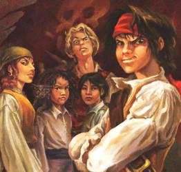 POTC: Jack Sparrow: The Barnacle crew by Kubini