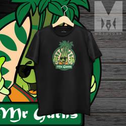 Mockup Black T-shirt by motusora