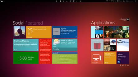Windows 8 Desktop by changeofplans