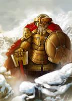 dwarven Royal Guard by Omuk