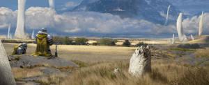 Thunderplains Grasslands by Omuk