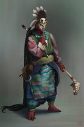shaman by Omuk