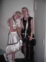 SUPANOVA: Chii and Freya by HarleyRosailes