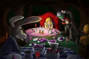 Mad Tea Party by dragonmjos