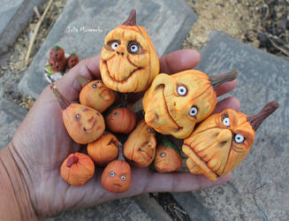 Halloween Pumpkins by Juliola