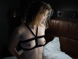 Bondage Shower 4 by kinkykusco