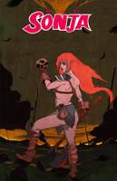 Red Sonja by TroyGalluzzi