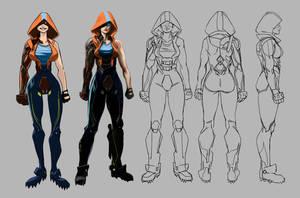 Cyborg by TroyGalluzzi