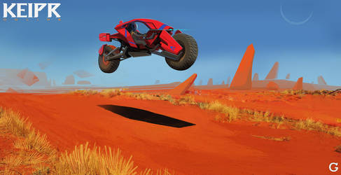 Keipr: Desert Runner by TroyGalluzzi