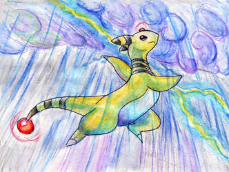 POKEDDEXY Electric: Ampharos by Night-Owl8