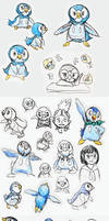 PMD: Piplup character ideas by Night-Owl8