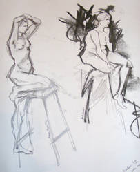 Life Drawing 7 by nowhere-plans
