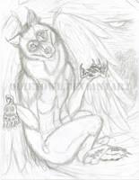 Anthro Owl by QuietOwl