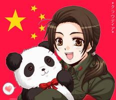 +APH: Chibi China+ by kuraudia