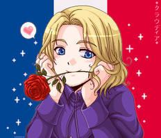 +APH: Chibi France+ by kuraudia