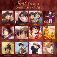 +2011 Summary of Art+ by kuraudia