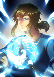 +TLoZ-BoTW: Absorbing a Spirit Orb+ by kuraudia