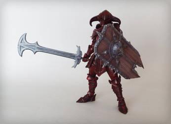 Vorgus Vermillius The Blood Armor by The-Dapper-Scrapper