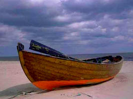 Small Dinghy Boat Stock by FairieGoodMother