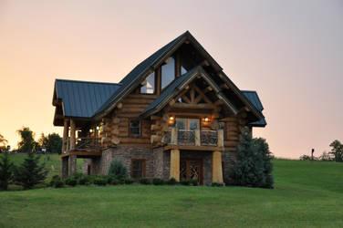Log House 1 by FairieGoodMother