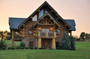 Log House 2 by FairieGoodMother