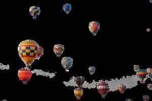 Precute Hot Air Balloons 3 by FairieGoodMother
