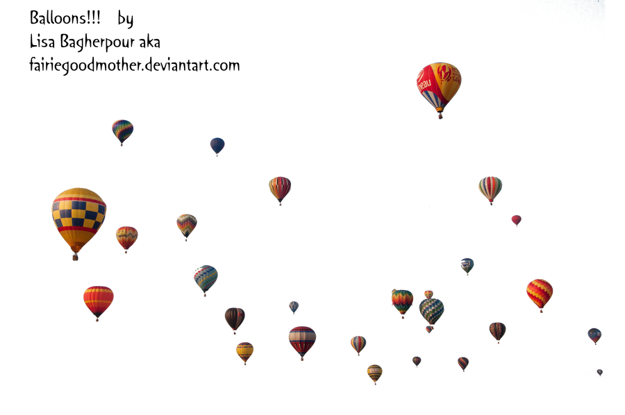 Precute Hot Air Balloons 4 by FairieGoodMother