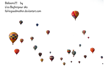 Precute Hot Air Balloons 13 by FairieGoodMother