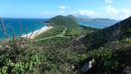 Atlantic Ocean meets Caribbean Sea Stock by FairieGoodMother