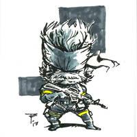 Doodles 027 (MGS PW -Snake) by artofTZU