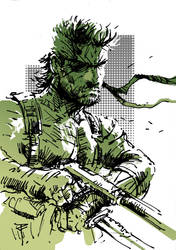 Art of the day #162 'MGS : Snake Eater' by artofTZU