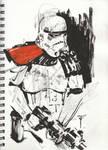 Doodles 045 'Sandtrooper' by artofTZU