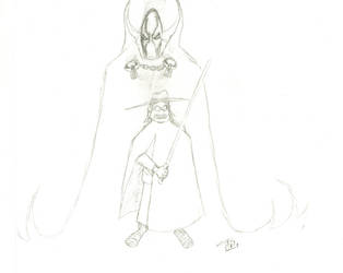 Spawn Tochiro - sketch by FG-Arcadia