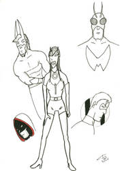 French Comics Heroes by FG-Arcadia