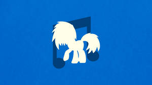 Vinyl Scratch Minimalist Wallpaper by apertureninja