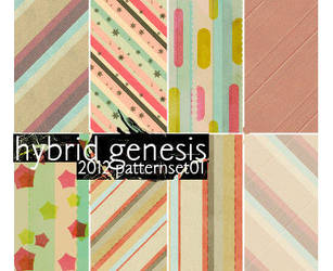 2012 HG Pattern Set 01 by In5omn1ac