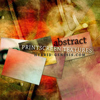 Free Abstract Print Screen Textures by In5omn1ac
