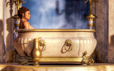 Fancy Bath by KayleeMason
