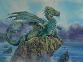 Neptunes Dragon by Fabeltier