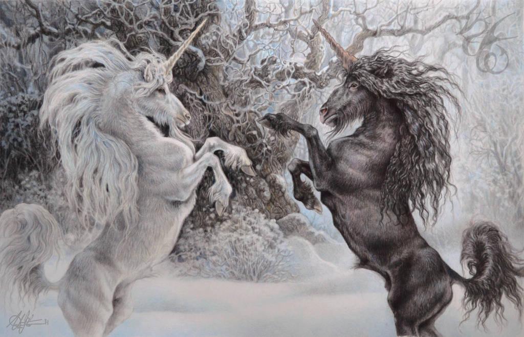 Rearing Unicorns by Fabeltier