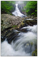 White Oak Canyon Falls by joerossbach