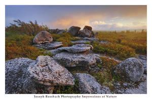 Storm Light at Bear Rocks by joerossbach