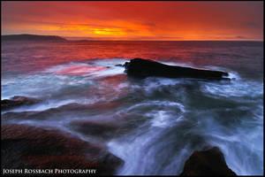 Red Sky Dawn by joerossbach