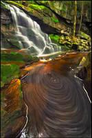 Swirly Falls by joerossbach