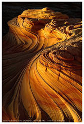 Sandtone Swirls at Sunset by joerossbach