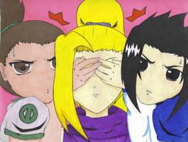 ShikaInoSasu- Guess Who by Ino-admirer38